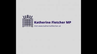"Embedded thumbnail for Katherine Fletcher says she is ""chuffed to bits"" to serve South Ribble in Parliament maiden speech"